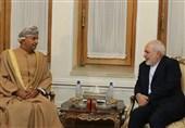 وزیر التجارة و الصناعة العمانی یلتقی ظریف
