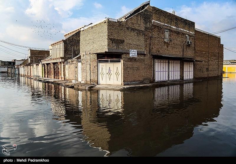 طغیان رودخانهها در هرمزگان / جاده جاسک ـ بشاگرد بسته شد
