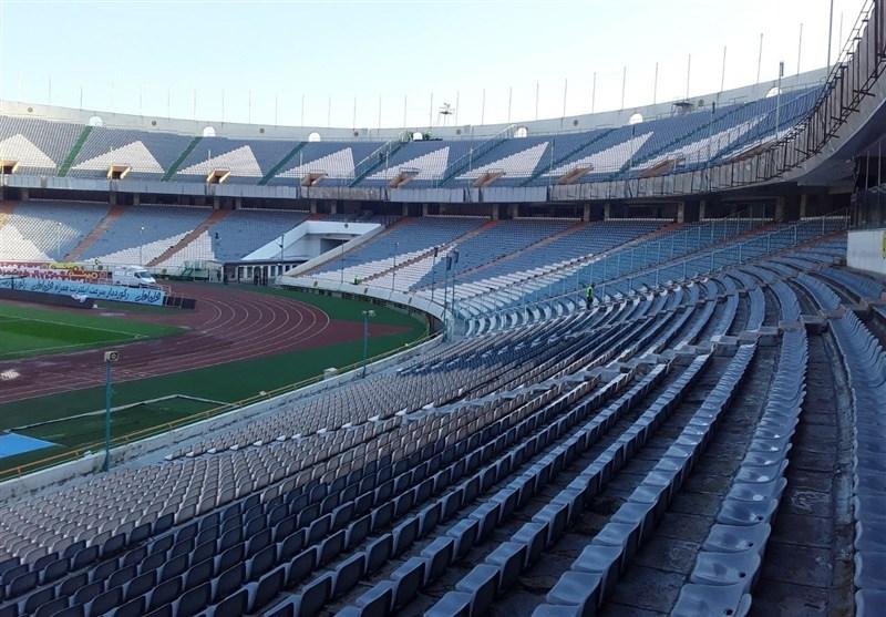حضور افراد متفرقه در مراسم قهرمانی سوپرجام/ هرج و مرج در ورزشگاه خالی!