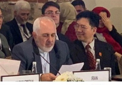 Iran Supports An Afghan-Led Peace Process, Says Zarif