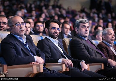 محمدجواد آذریجهرمی وزیر ارتباطات در سومین همایش و نمایشگاه تهران هوشمند