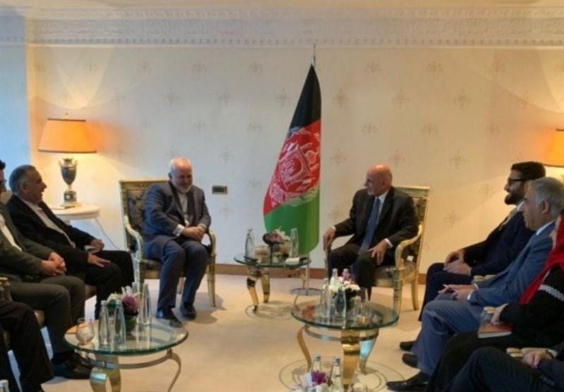 Iran's Zarif, Afghan President Discuss Peace Efforts