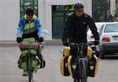 جانباز 65 درصد با دوچرخه به دور دنیا سفر میکند
