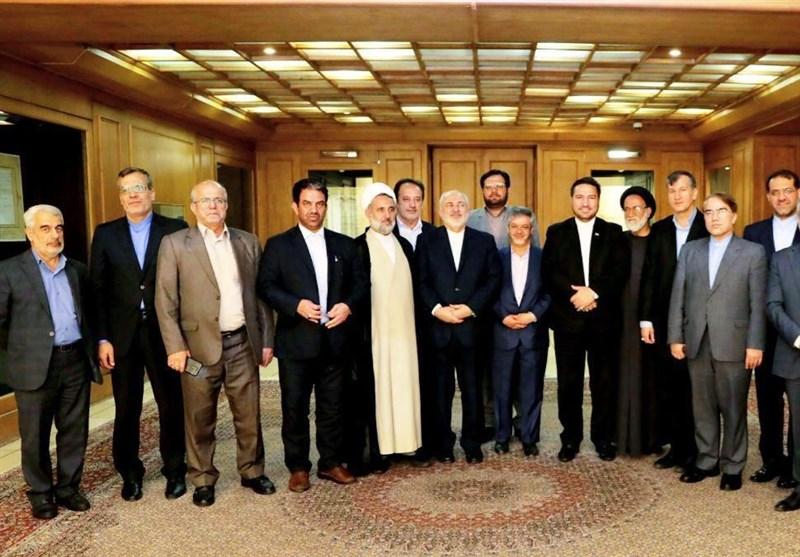 Iranian FM, Lawmakers Discuss Regional Issues