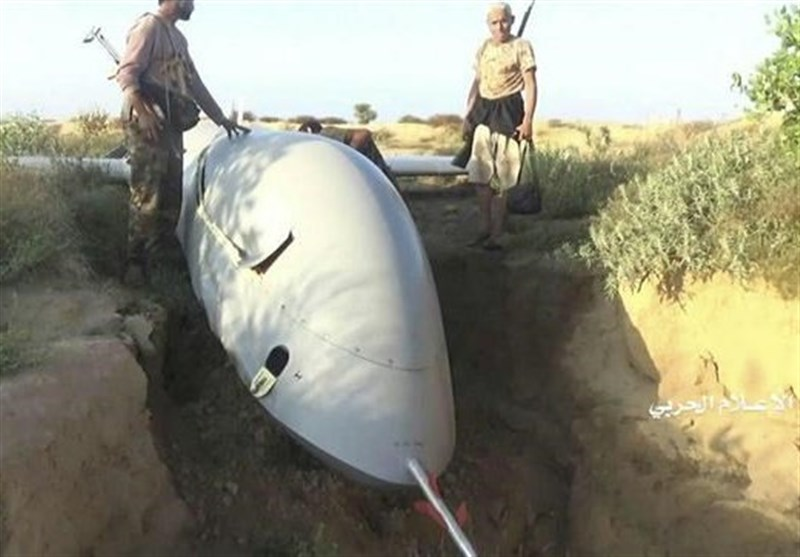 Yemen Army Downs Saudi Spy Drone over Najran