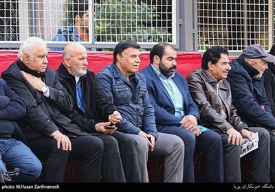 پرویز مظلومی در دیدار نمادین پیشکسوتان تیمهای استقلال و پاس