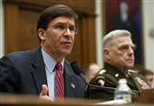 وزیر دفاع آمریکا دستور عقبنشینی ارتش از خیابانها را پس گرفت