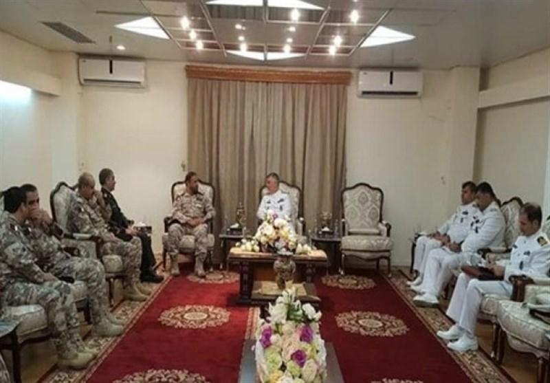 Iran, Qatar Navy Commanders Meet in Doha