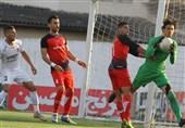 لیگ برتر فوتبال| تساوی نساجی و شهر خودرو در 45 دقیقه اول