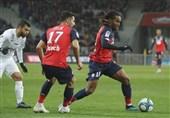 لوشامپیونه| لیل با پیروزی بر مونپولیه به رده سوم صعود کرد