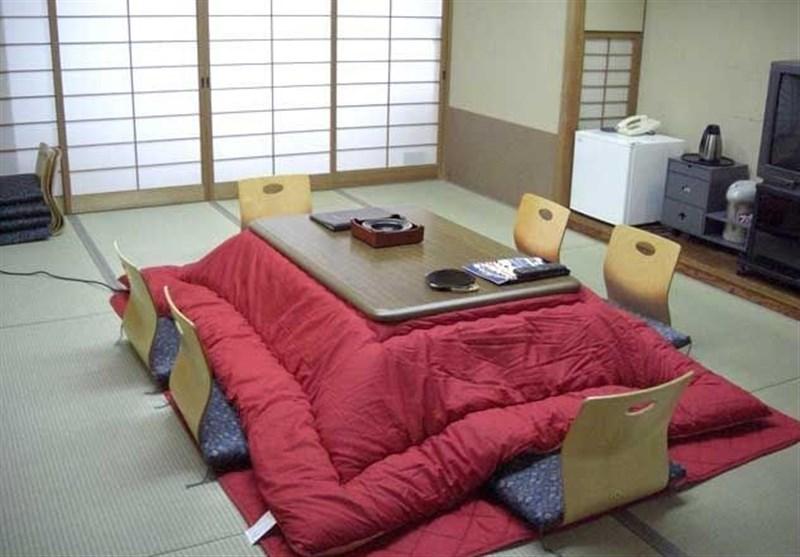 """ژاپنیها خود را مقید به استفاده از """"کرسی"""" برای حفظ سلامتی میدانند! + تصاویر"""
