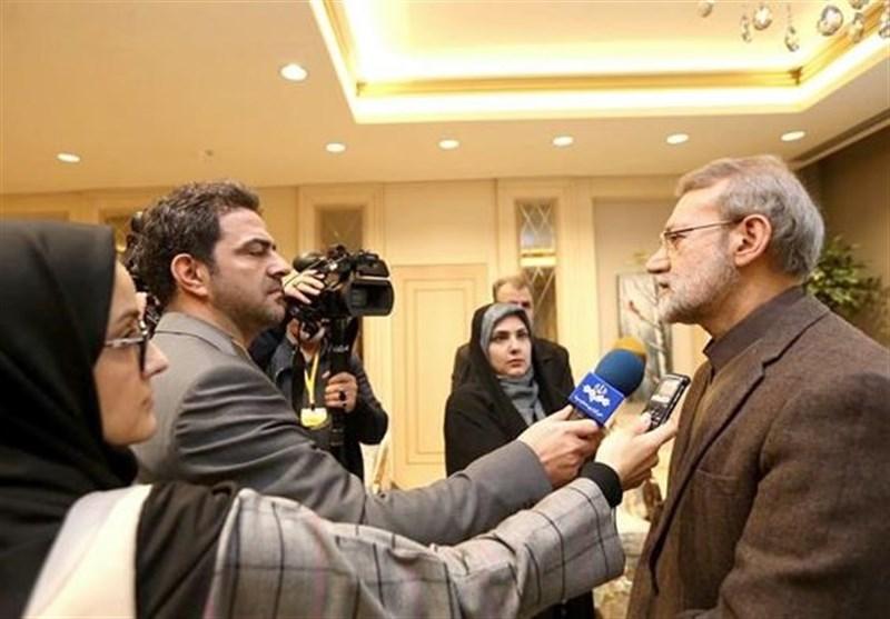 لاریجانی: دول أسیا تعتبر الأمن الإقلیمی المستدام رهن بالتعاون مع ایران