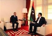دیدار وزرای خارجه و دفاع ترکیه با رئیس دولت وفاق ملی لیبی