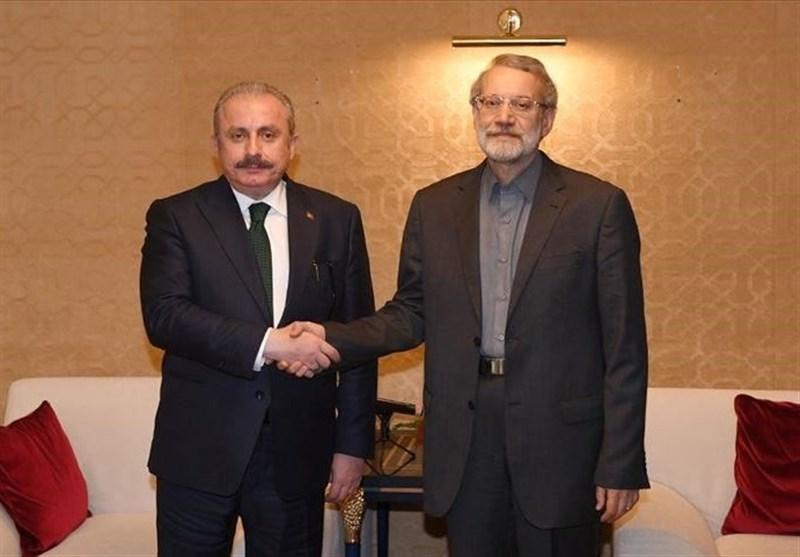 Iran, Turkey Parliament Speakers Meet in Antalya