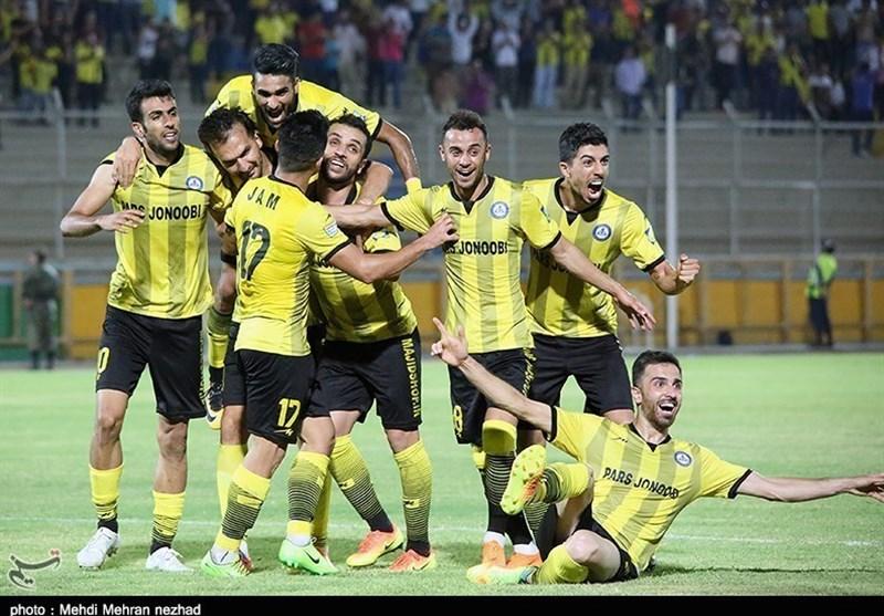 بوشهر  جدال 2 تیم نفتی پارس جنوبیجم و مسجدسلیمان در نیمه نخست به پیروزی جمیها انجامید