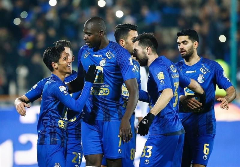 جدول ردهبندی لیگ برتر فوتبال در پایان هفته پانزدهم؛ صدر همچنان آبی