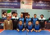 خوزستان| پتروشیمی بندرامام قهرمان نیم فصل لیگ تنیس روی میز کشور شد
