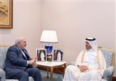 Iranian FM, Qatari PM Meet in Doha