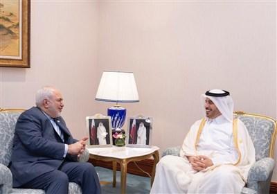 Iranian FM, Qatari PM Meet in Doha