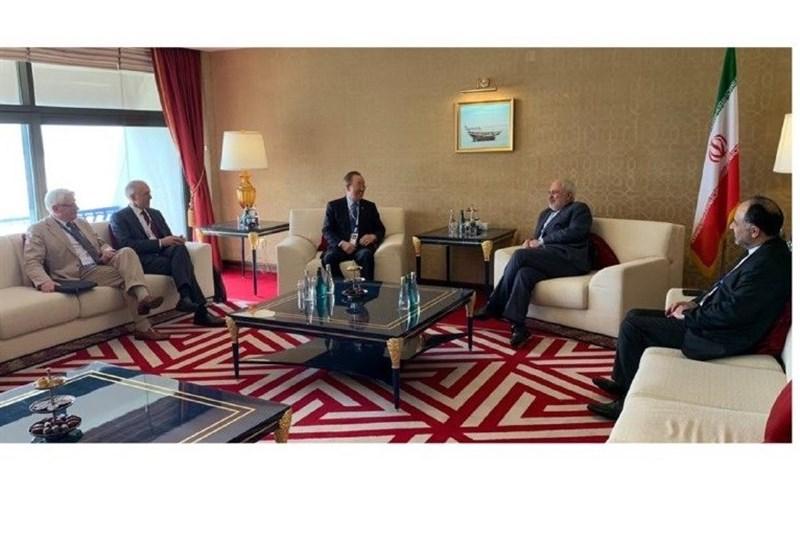 Iranian FM, Members of The Elders Meet in Doha