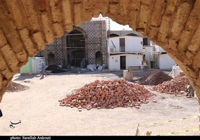 رخت مرمت بر تن قلعه اسفندیاری در شهرکرد; احیای بناهای تاریخی نیازمند حضور سرمایهگذاران است