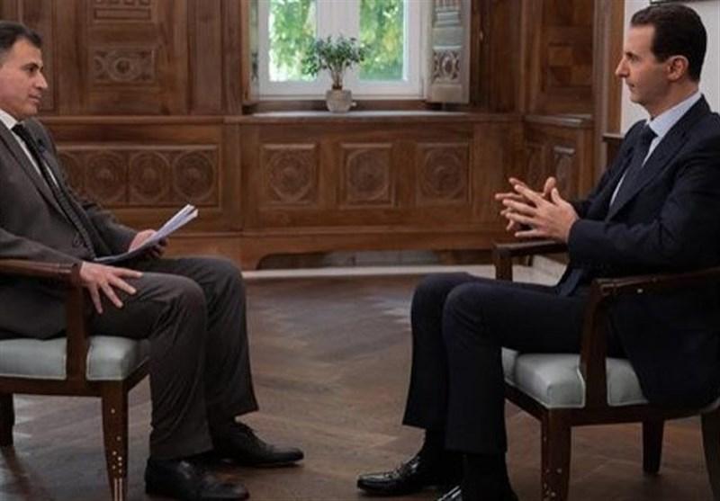 بشار اسد: آمریکا جایی در سوریه ندارد و حتما خارج خواهد شد