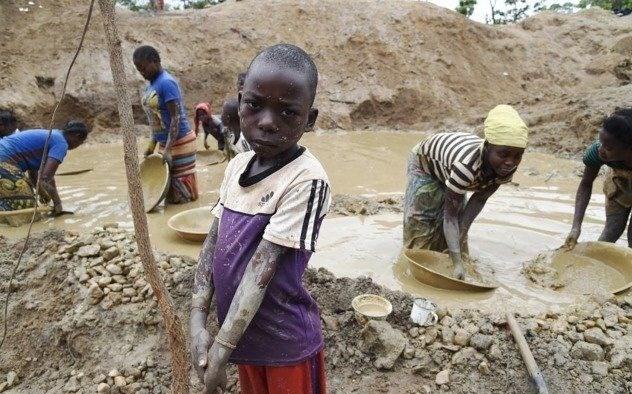 کودکان کار , قاره آمریکا ,