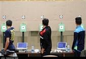قهرمانی و نایب قهرمانی نمایندگان ایران در مسابقه تپانچه