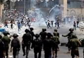 زخمی شدن دهها فلسطینی در حمله نظامیان صهیونیست