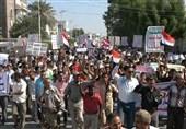 راهپیمایی دانش آموزان یمنی در محکومیت ادامه محاصره الحدیده