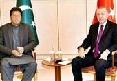 گفتگوی تلفنی عمران خان و اردوغان درباره اوضاع منطقه