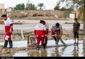 هلال احمر کرمان به 7000 نفر گرفتار در سیلاب و برف امدادرسانی کرد