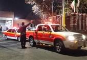 اعزام 30 آتشنشانان تهرانی برای امدادرسانی در مناطق سیلزده خوزستان