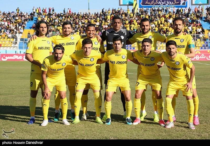 بوشهر  ترکیب تیمهای پارس جنوبی جم و تراکتورسازی تبریز اعلام شد