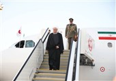 Iranian President in Japan for Talks with Abe