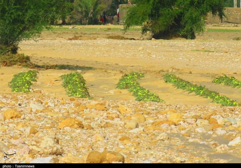 خسارات سیل در پارسیان هرمزگان