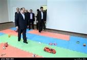 بازدید محمد شریعتمداری وزیر تعاون، کار و رفاه اجتماعی از شیرخوارگاه شبیر