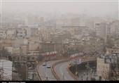 کیفیت هوای تهران در آستانه وضعیت ناسالم برای گروه های حساس/ بازگشت آلودگی ها به تهران