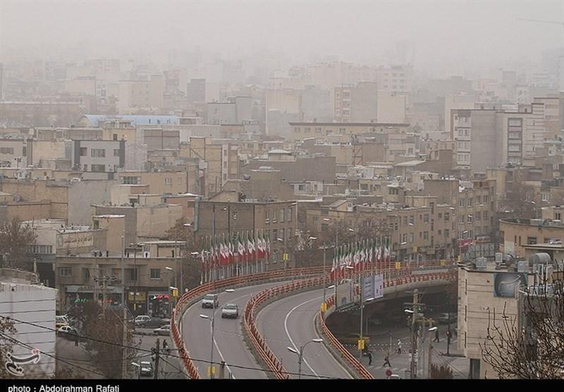 هوای تهران ناسالم شد/ کاهش دما به منفی 2 درجه