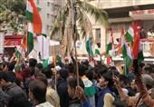 ادامه اعتصاب دانشجویان هندی علیه قانون تبعیض مذهبی