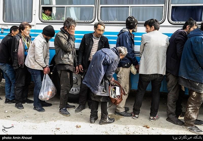 واکنش پلیس به کلونیهای معتادان در تهران/ 12هزار معتاد متجاهر را رها کردند