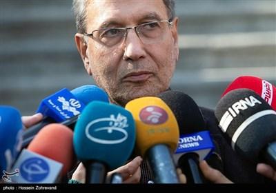 علی ربیعی سخنگوی دولت در جمع خبرنگاران
