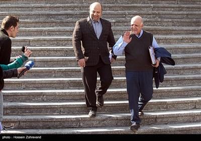 بیژن زنگنه، وزیر نفت درحاشیه جلسه هیئت دولت