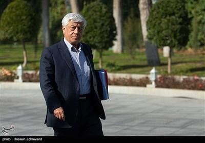 عباس کشاورز سرپرست وزارت جهاد کشاورزی درحاشیه جلسه هیئت دولت