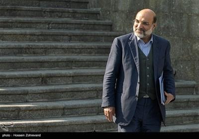 عبدالعلی علیعسگری ، رئیس سازمان صداو سیما درحاشیه جلسه هیئت دولت