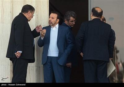 محمود واعظی رئیس دفتر رئیسجمهور درحاشیه جلسه هیئت دولت