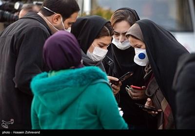 حضور خبرنگاران در حیاط هیئت دولت