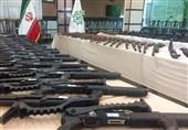 انهدام باند سازمانیافته توزیع سلاح جنگی و شورشی در فریدونکنار / 64 قبضه سلاح از متهمان کشف شد