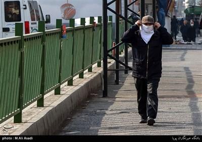 """هوای تهران همچنان """"ناسالم"""" است"""