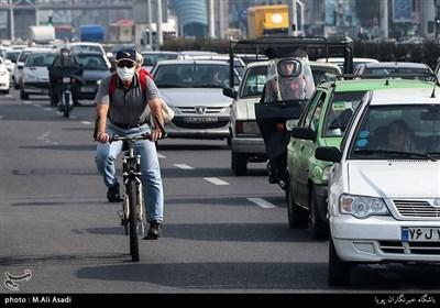 هوای تهران در آستانه وضعیت ناسالم برای گروههای حساس جامعه